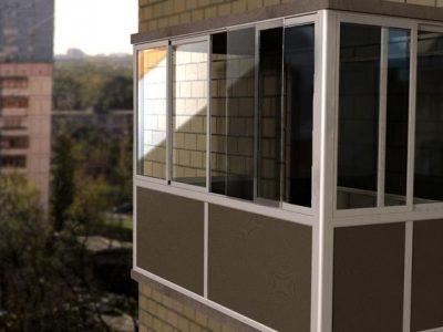 Как остеклить балкон самостоятельно
