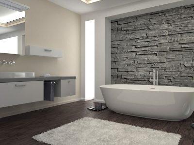 Как отделать ванную комнату линолеумом своими руками
