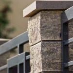 Ограждение территории с помощью бетонных конструкций