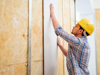 Как выровнять стены при помощи гипсокартона