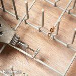 Ремонт посудомоечной машины: как починить стойки для посудомоечной машины в 2 простых шага