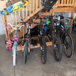 Гаражная велосипедная стойка, простой и чистый дизайн